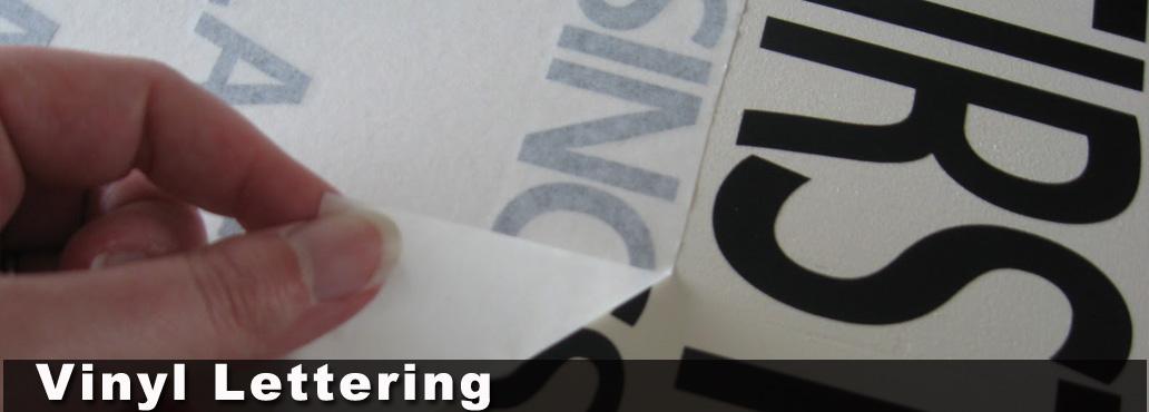 Die Cut Vinyl Lettering Chula Vista San Diego Lettering